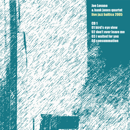 Carátula CD: Joe Lovano & Hank Jones Quartet - Live Jazz Baltica ...