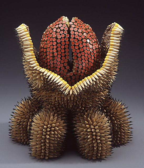 ===Con lapices de colores=== Aa-0036-arte-con-lapices-jennifer-maestre-color-punzante-obras-figuras-esculturas-arte-artesania
